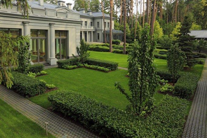 ландшафтный дизайн в классическом стиле