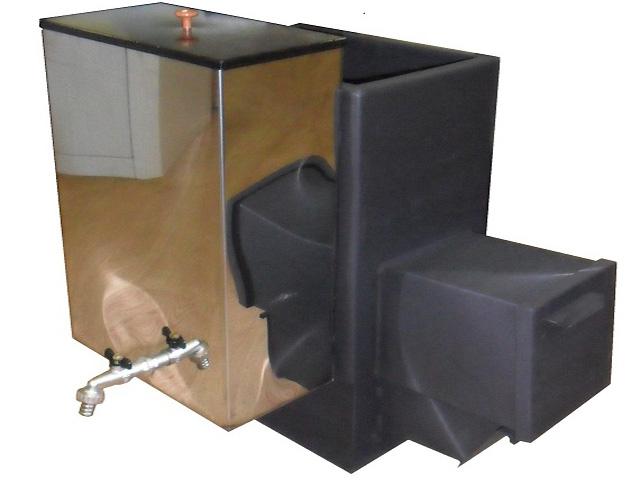 печь для бани с выносным баком