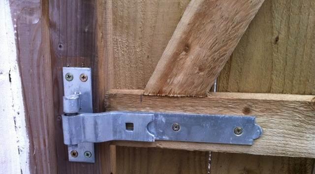 деревянная клитка для забора своими руками