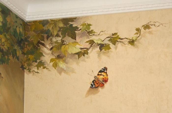 Нанесение изображения акриловыми красками