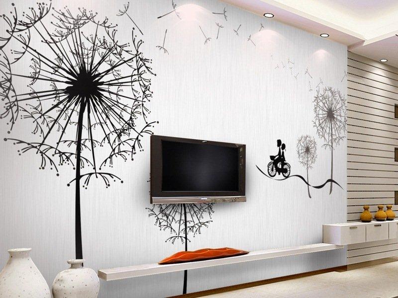 Рисунки на стенах домов своими руками