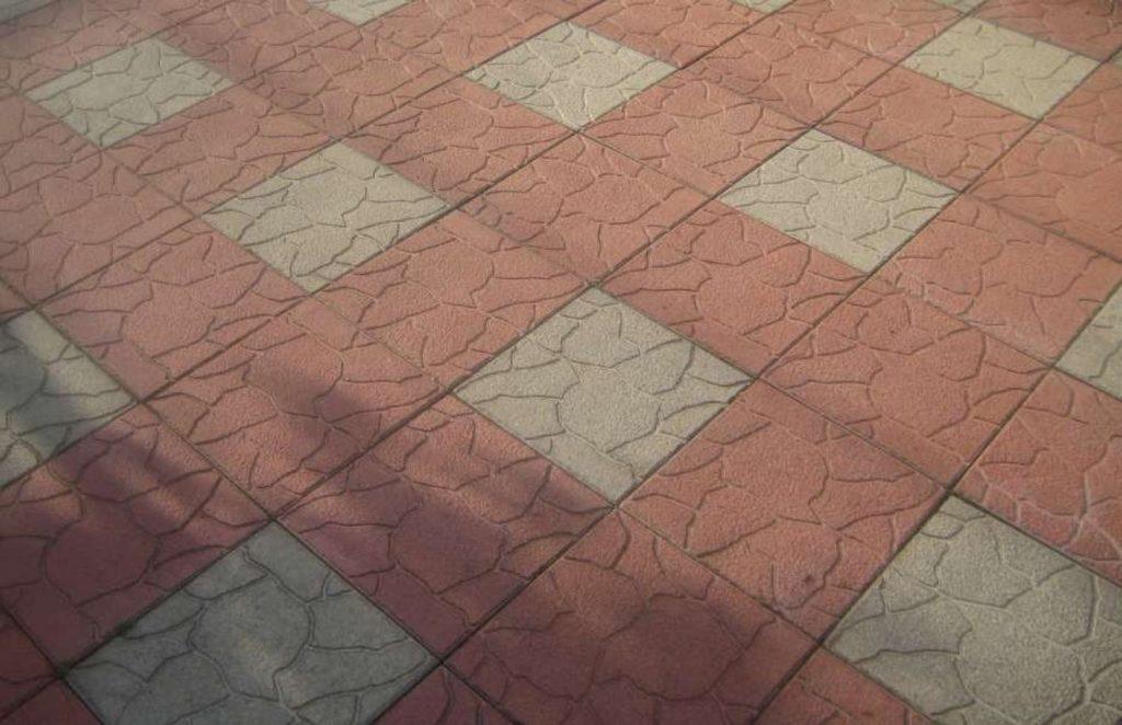 вибролитье тротуарной плитки