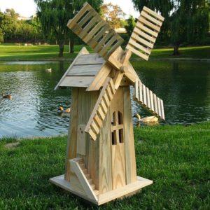ветряная мельница на даче своими руками